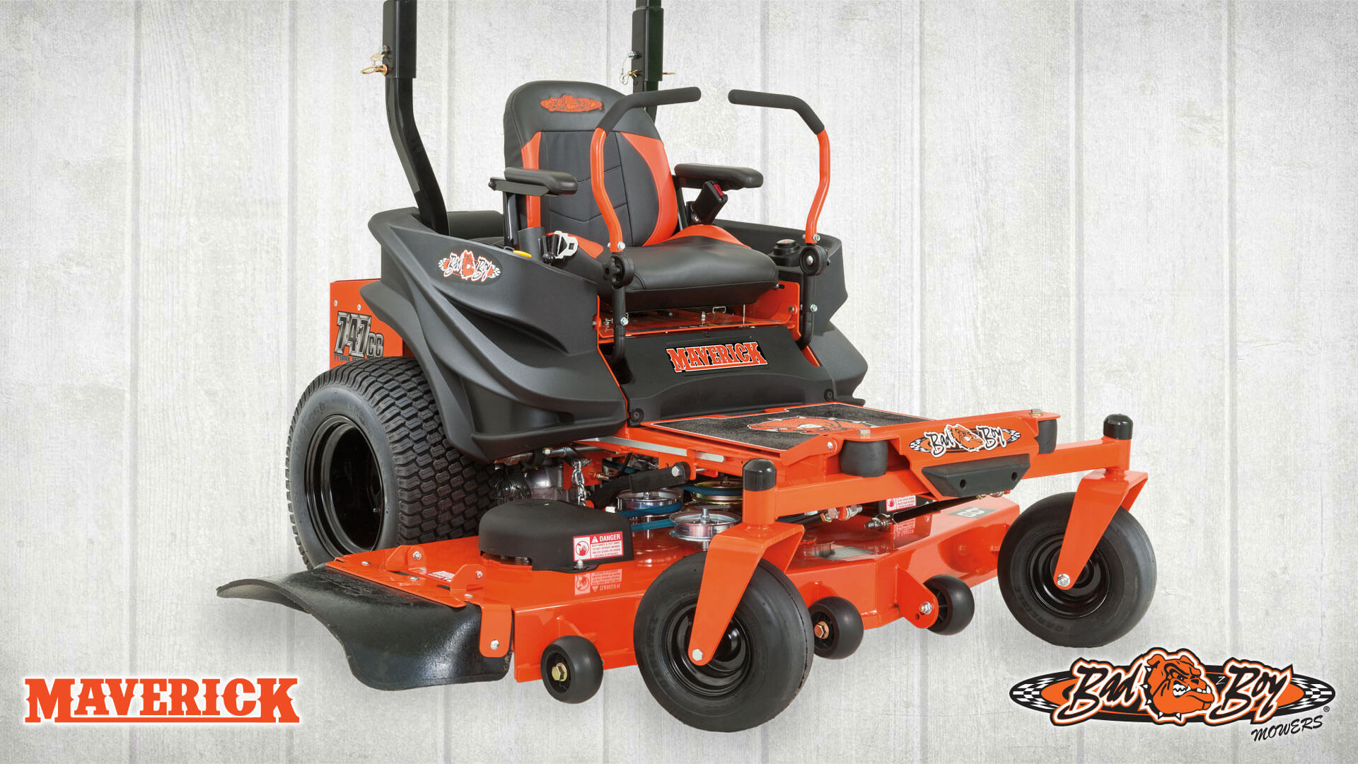 Bad Boy Mowers continues to buck the industry by building the strongest, most powerful mowers — for the best value — packed with innovation not found on any other mower in their class.