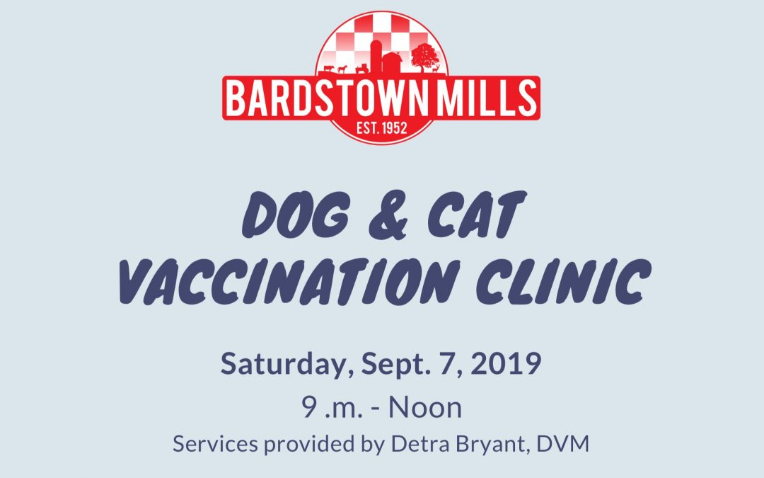 Vaccination Clinic for Dogs and Cats